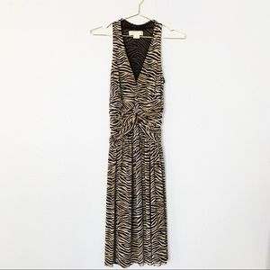 Michael Kors | Animal Print Empire Waist Dress
